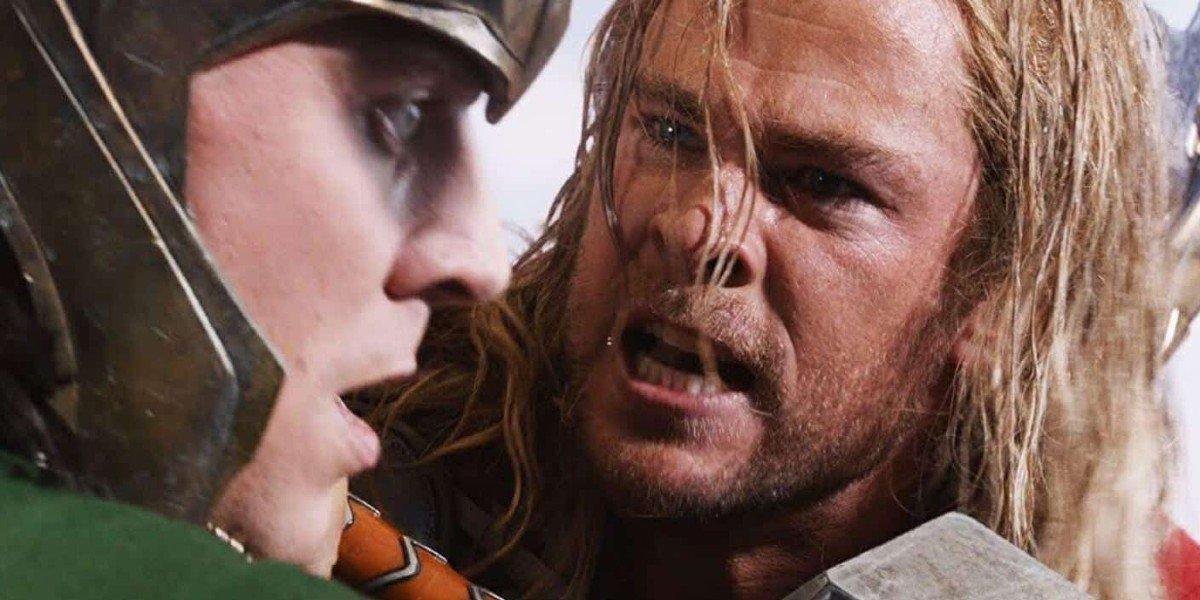 Tom Hiddelston, Chris Hemsworth - The Avengers (2012)