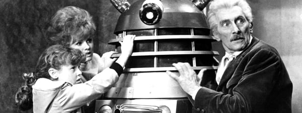 Peter Cushing Doctor Who and the Daleks