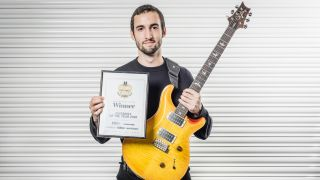 2018 Guitarist of the Year winner Gabriel Cyr