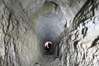hadrian's villa underground passageways