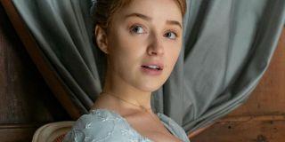 Phoebe Dynevor as Daphne Bridgerton in Season One of the Netflix Show