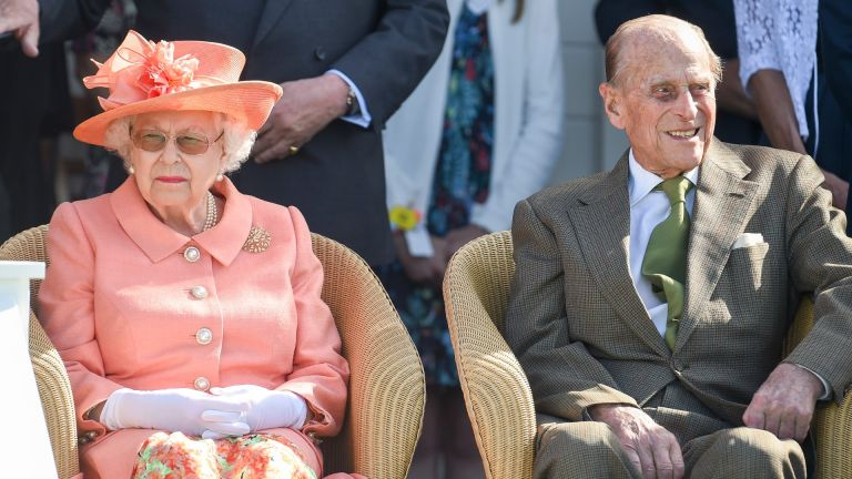 Prince Philip and the Queen attend The OUT-SOURCING Inc Royal Windsor Cup 2018 polo match