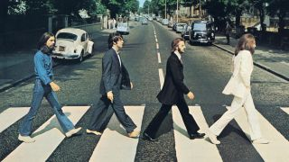 The Beatles' Abbey Road album artwork