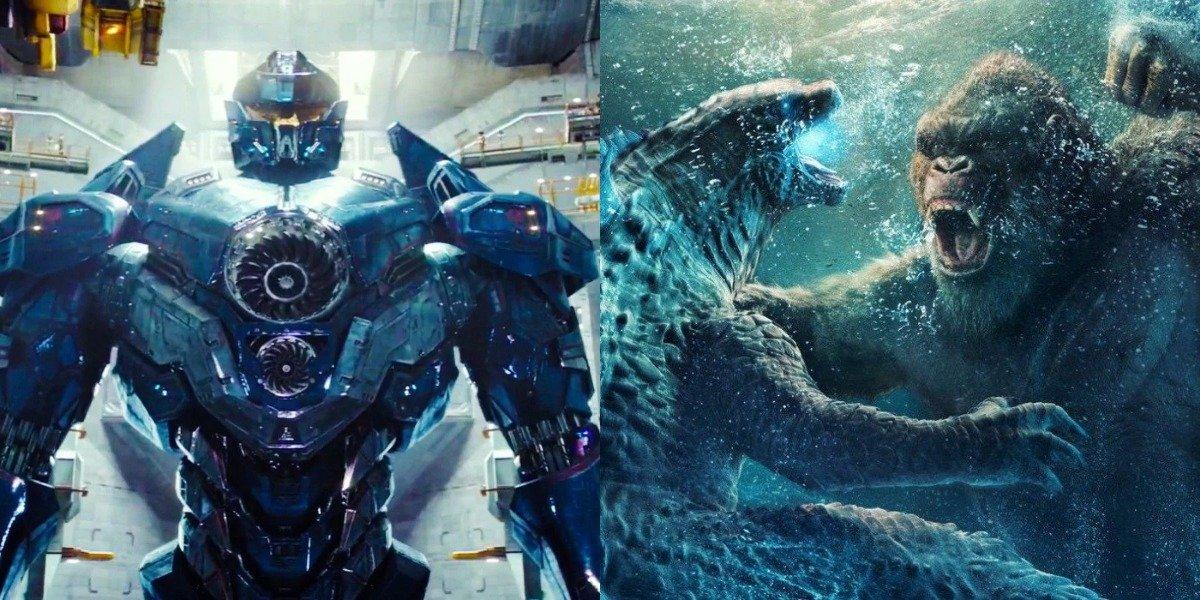 Pacific Rim and Godzilla vs. Kong