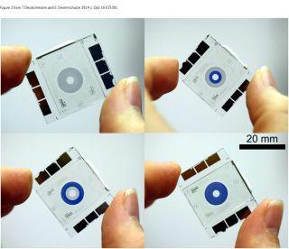 'Smart Glass' Micro-Iris
