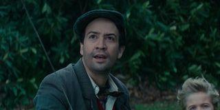 Lin-Manuel Miranda in the Mary Poppins Returns trailer