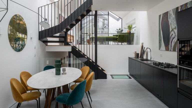The Modern House - converted garage