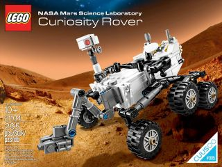 NASA's Mars Science Laboratory Curiosity Rover is now for sale as an official LEGO toy brick set thanks to fans' votes