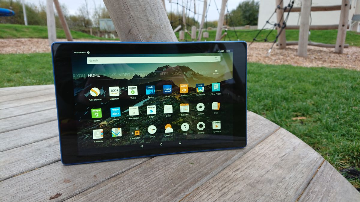 Amazon Fire HD 10, Amazon's big tablet, is today's best ...