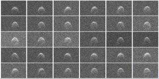 Radar Images of Asteroid 2005 WK4