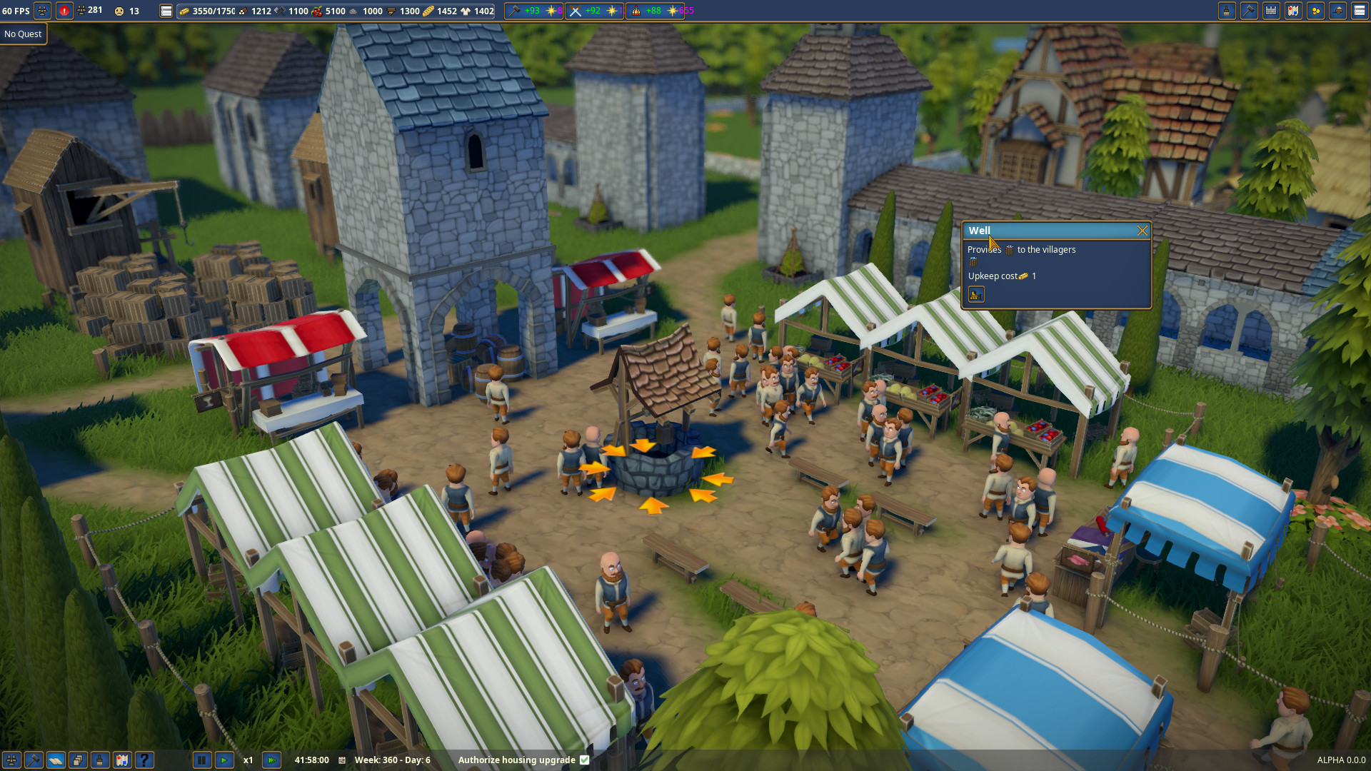 Foundation Polymorph Games medieval city builder foundation now in early access