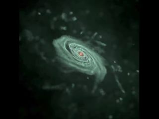Galaxy Formation Simulation