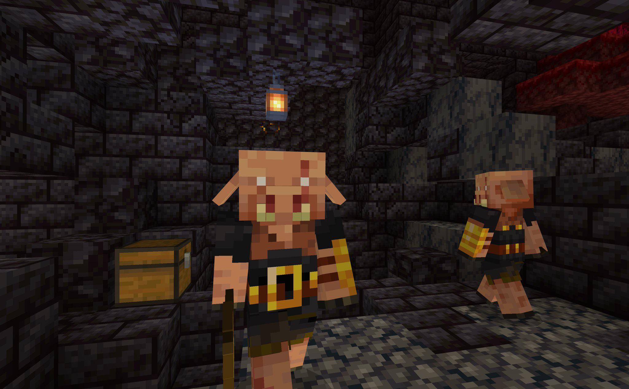 Minecraft update 1.16.40 piglin brutes