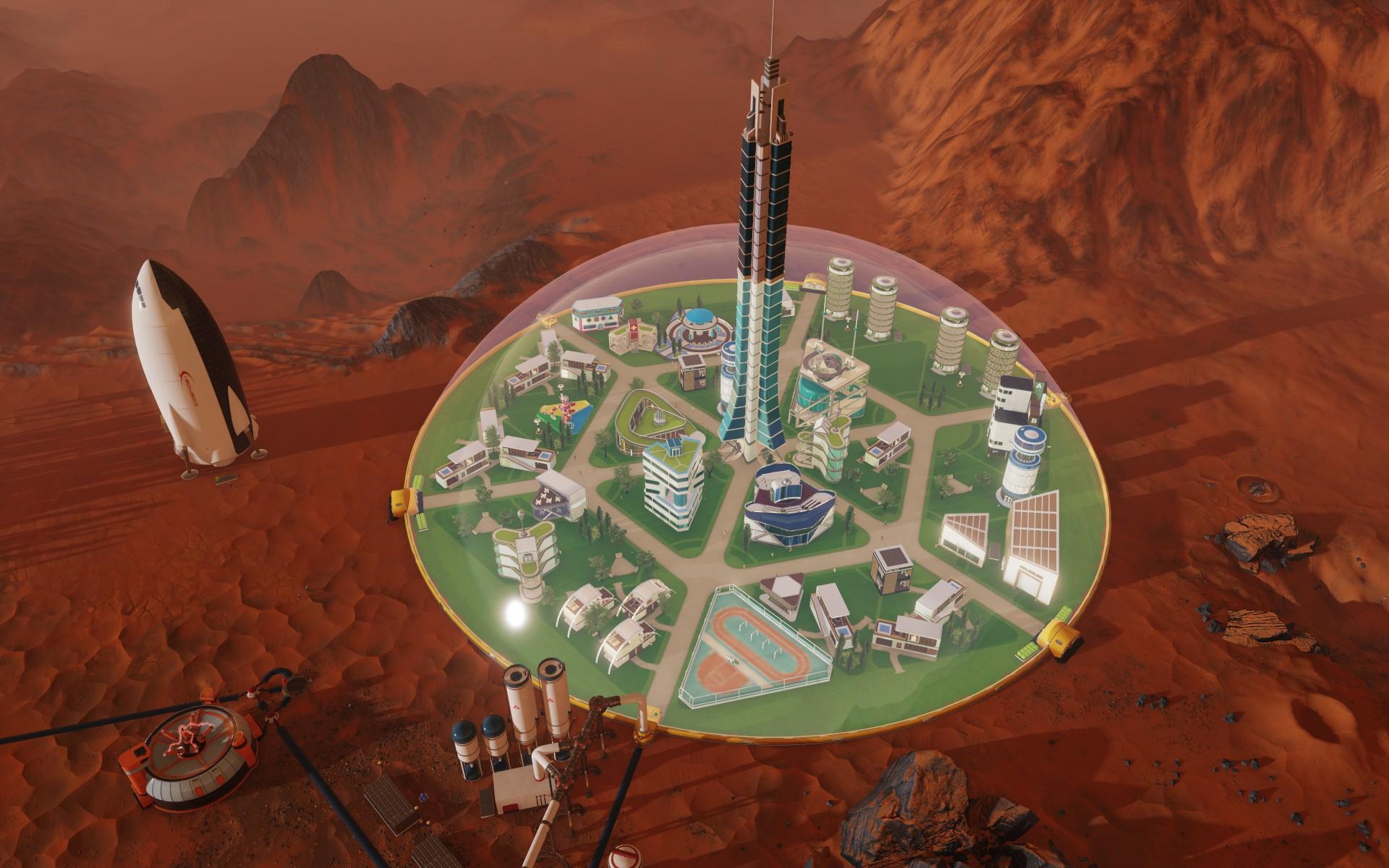 Nuevo Trailer de Surviving Mars