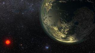 Candidate Exoplanet Around Star GJ 411