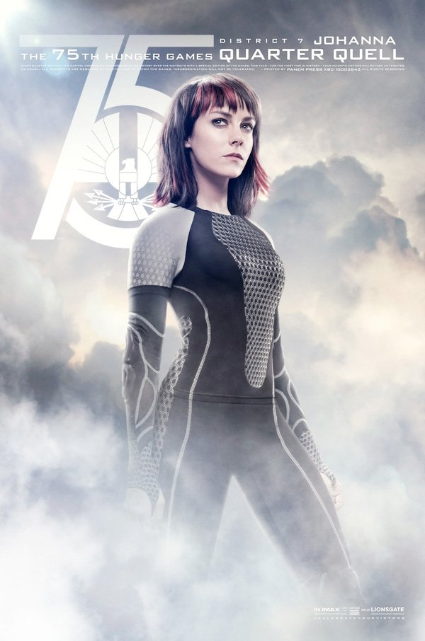 The Hunger Games Catching Fire Johanna Tribute