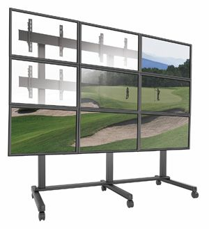 Chief Brings Freestanding Video Wall Solutions to DSE