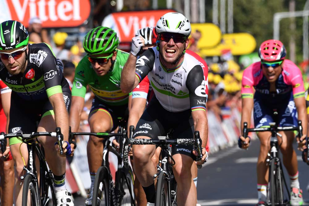 Mark Cavendish Makes History With Tour De France Stage Six