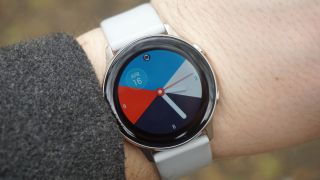The Samsung Galaxy Watch Active