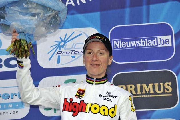 Women's Tour of Flanders winner Judith Arndt
