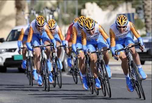 Garmin-Transitions, Tour of Qatar 2010, stage 1 TTT