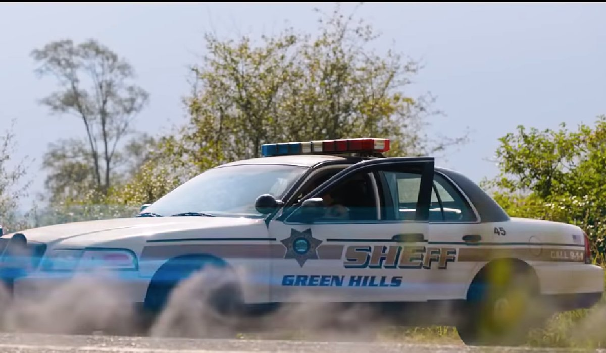 Sonic The Hedgehog Green Hills Sheriff's car