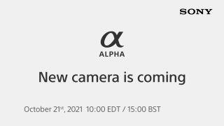 Sony Alpha launch promo art