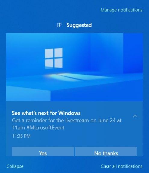 Windows 11 Event Alert