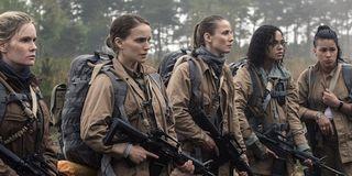 Annihilation Jennifer Jason Leigh Natalie Portman Tuva Nuvotny Tessa Thompson Gina Rodriguez
