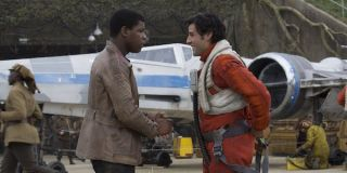Finn and Poe The Force Awakens