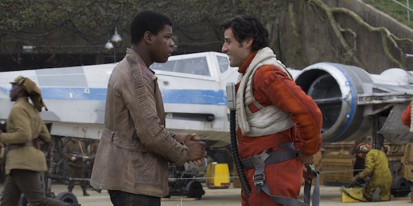 Finn and Poe The Force Awakens