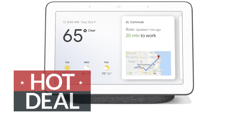 Google Nest Hub Walmart Cyber Monday deals