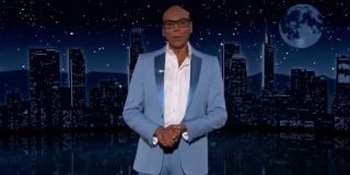 RuPaul being witty and hilarious while serving as guest host on Jimmy Kimmel Live!