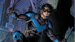"""Nicola Scott's Nightwing is the """"poster boy for the resistance"""" in Future State"""