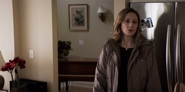 Judy Greer's Karen Strode, frustrated with her mother in Halloween