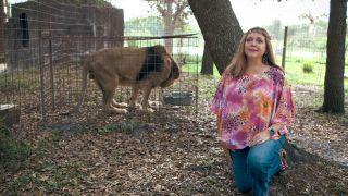 Carole Baskin in Netflix smash-hit 'Tiger King'.