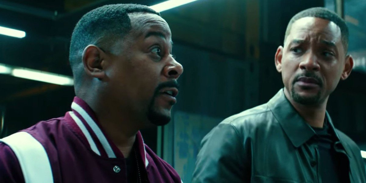 Martin Lawrence, Will Smith standing next to each other in Bad Boys For Life