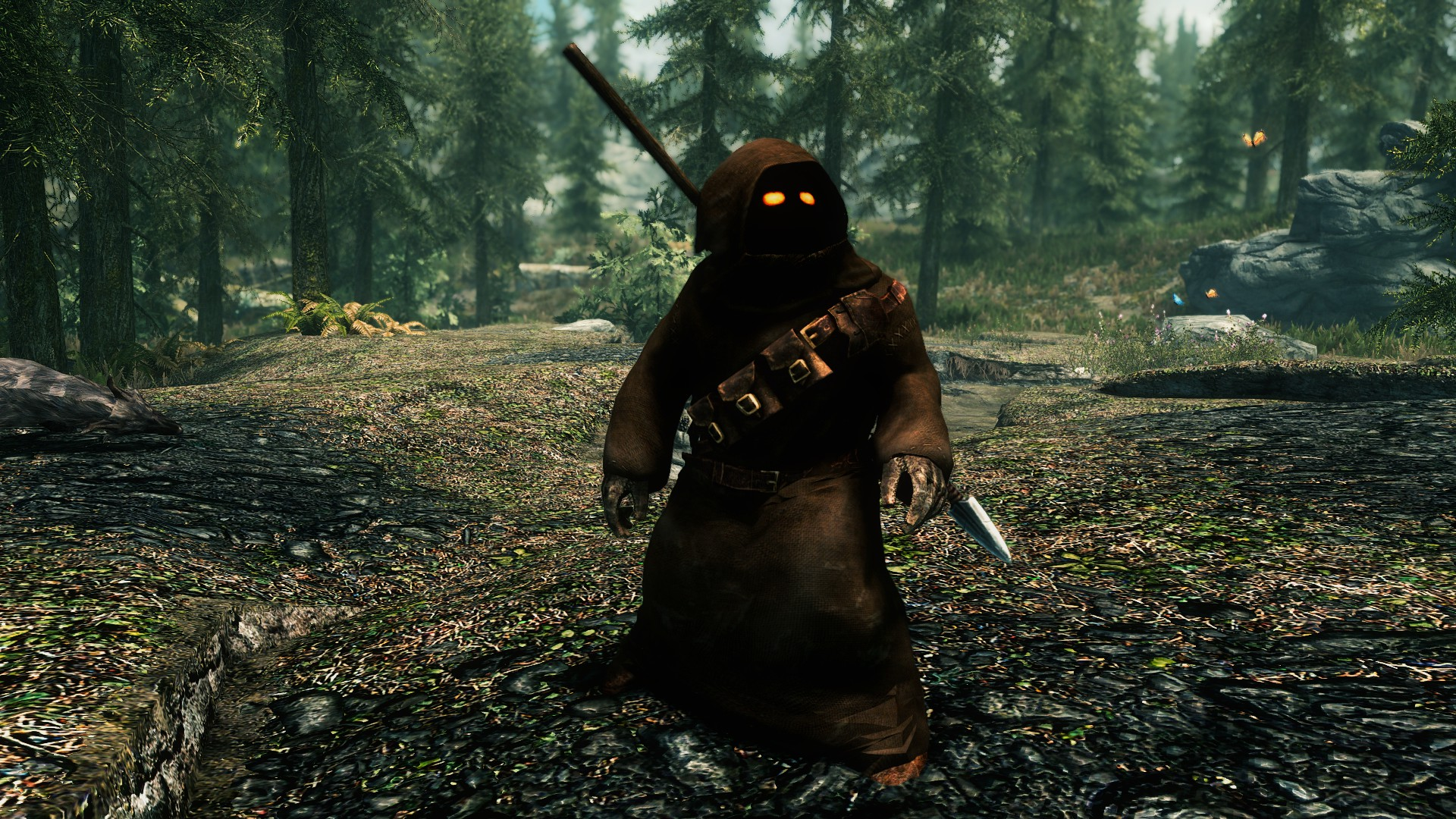 Get in the mood for Star Wars with this Jawa follower mod for Skyrim