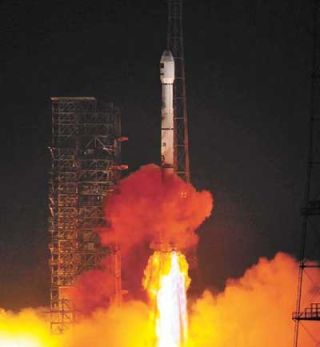 China Launches Pakistan Satellite