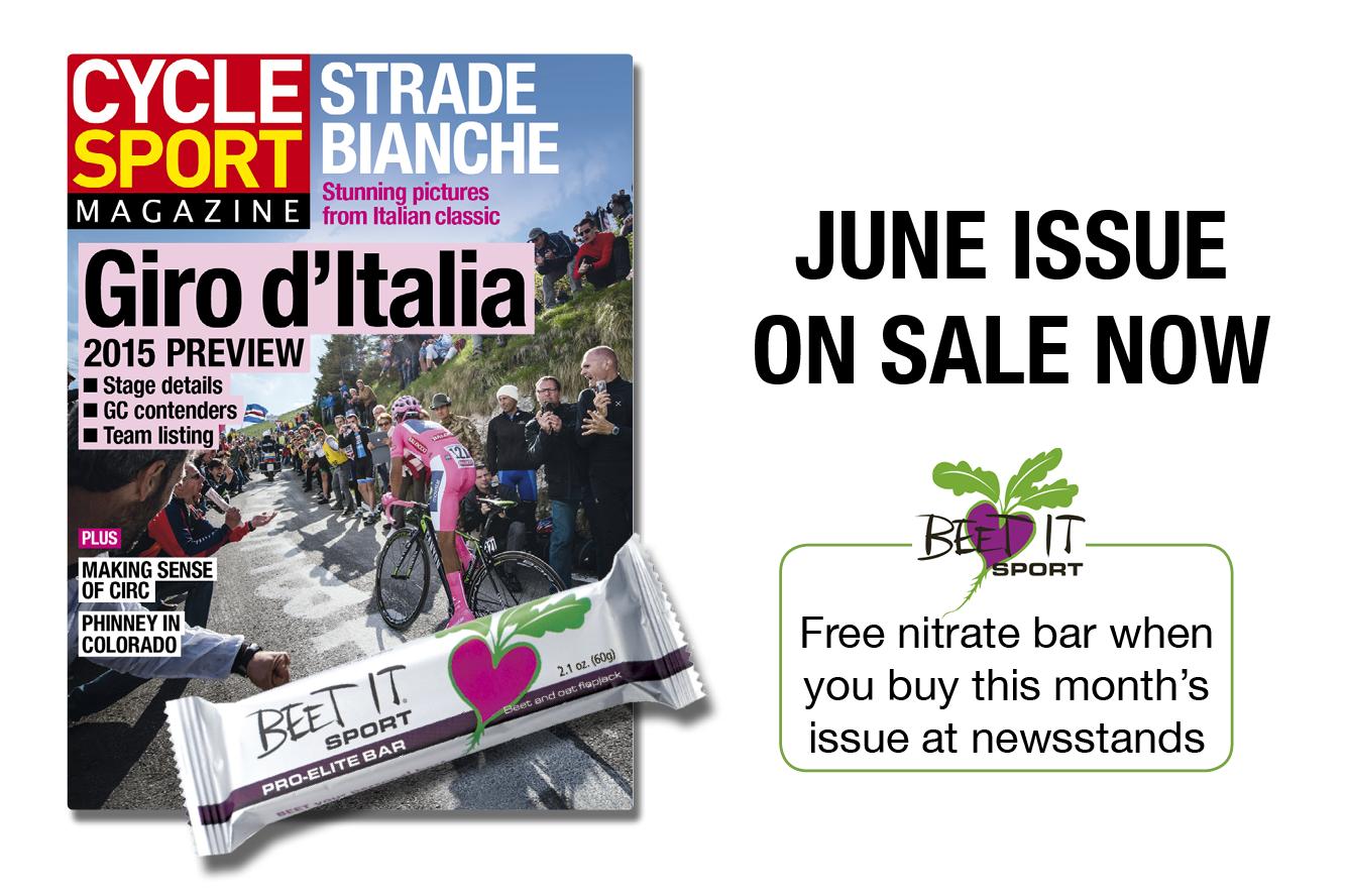 Cycle Sport June - Beet-it