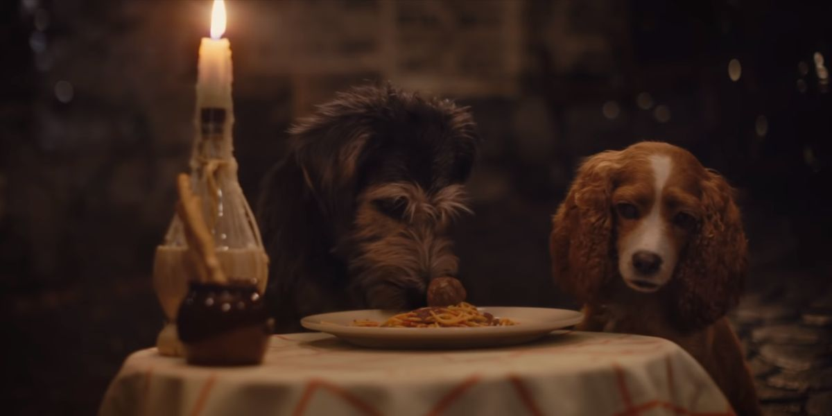 New Lady And The Tramp Trailer Features The Iconic Spaghetti Scene Cinemablend
