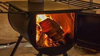 best wood-burning stove: Camp Chef Alpine Heavy Duty Cover
