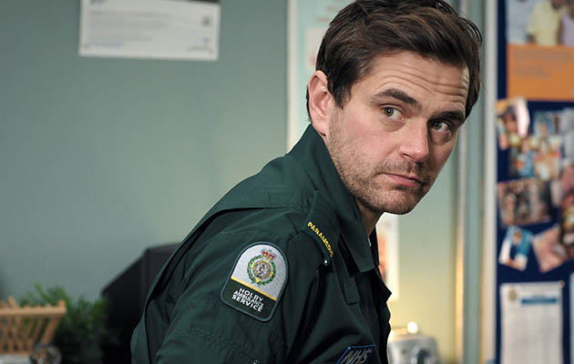 Casualty star Michael Stevenson