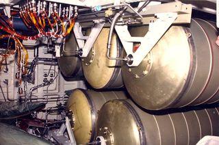 Water Storage Tanks on Endeavour