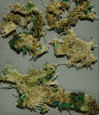nettle fabric found in a 2,800-year-old grave in Denmark