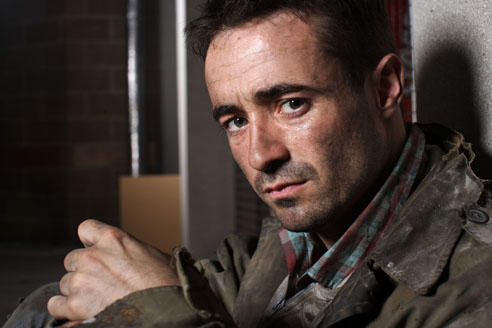 Joe McFadden on joining the Casualty cast