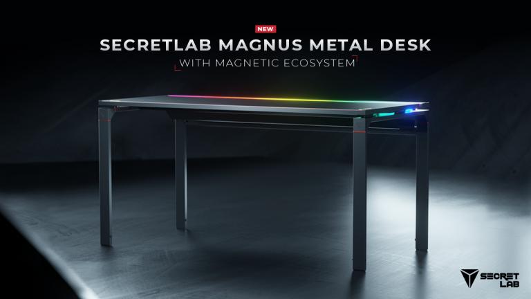 SecretLab MAGNUS Metal Desk review