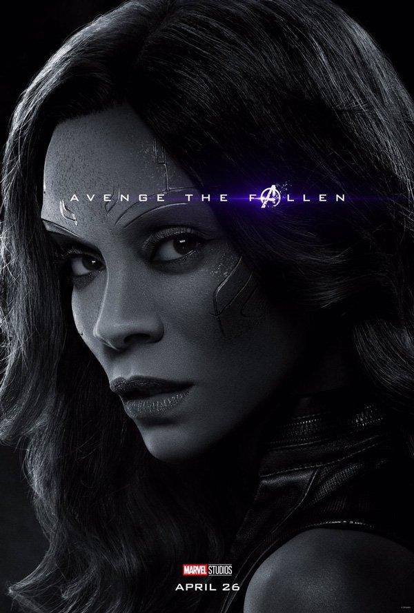 Gamora in Endgame 2019