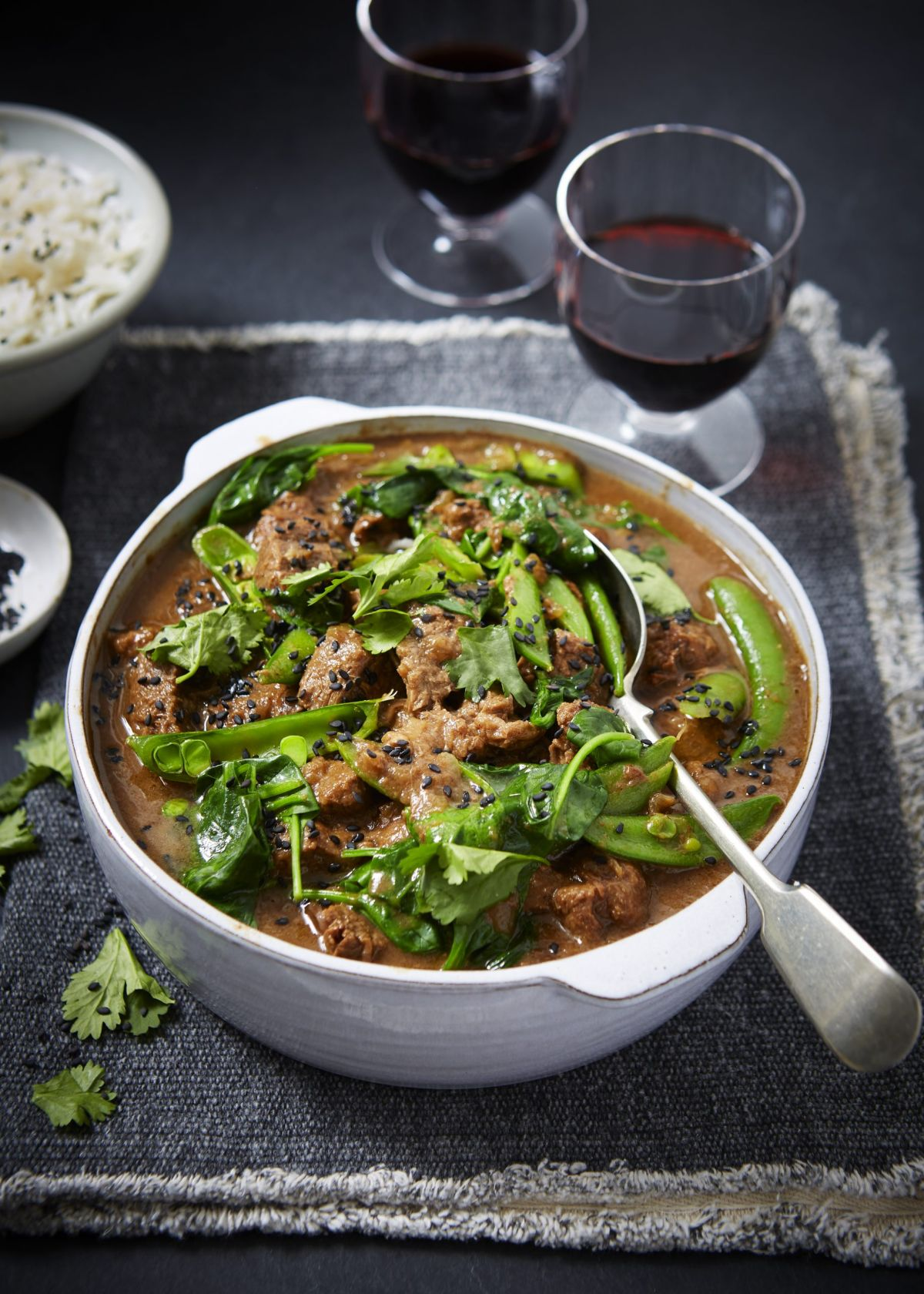 This sticky tamarind curry is a real crowd pleaser that's perfect to warm everyone up