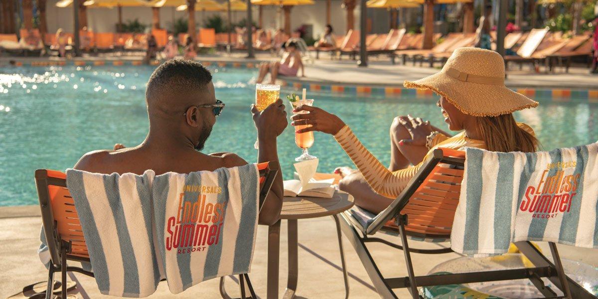social distancing at the pool 2021